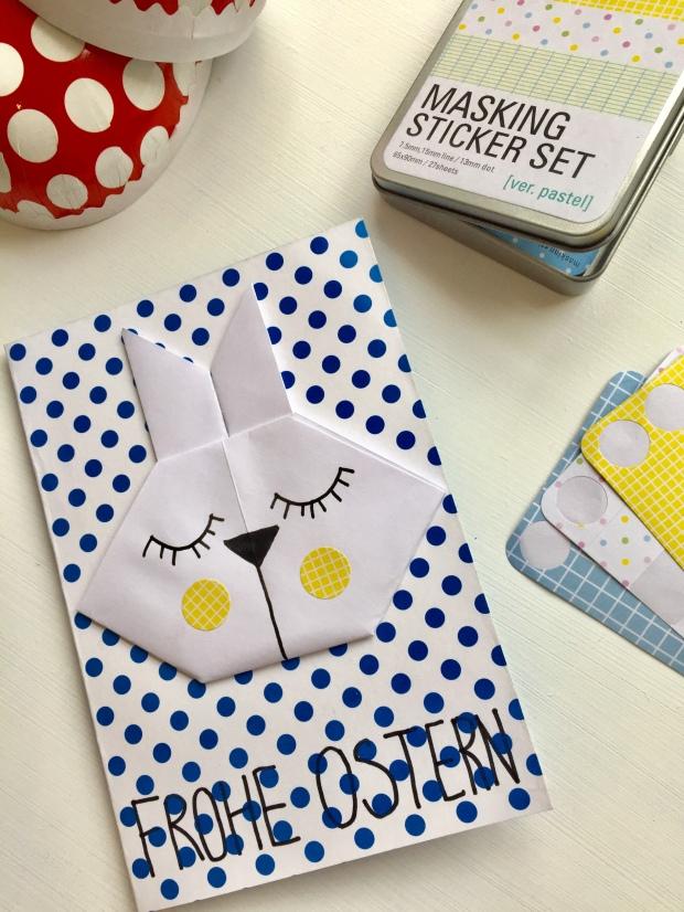 Origami-Osterhasen